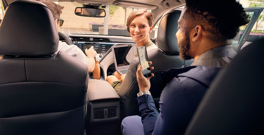 New 2019 Toyota Camry Hybrid Wi-Fi Connect Powered By Verizon