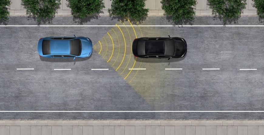 New 2019 Toyota Camry Hybrid Dynamic Radar Cruise Control