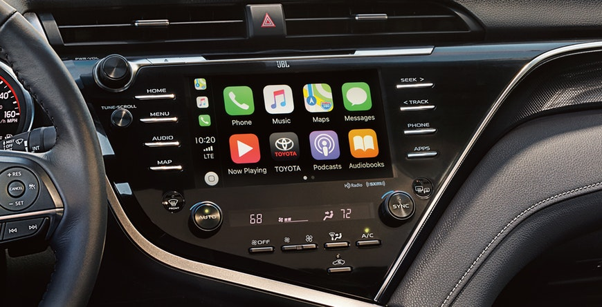 New 2019 Toyota Camry Hybrid Apple CarPlay®