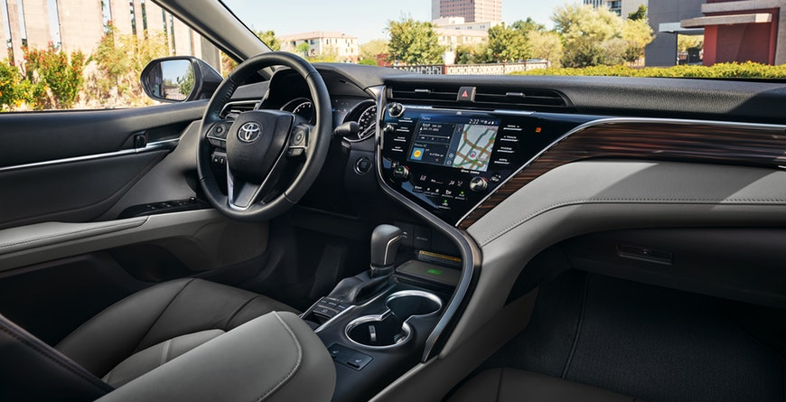 New 2019 Toyota Camry Hybrid Leather-Trimmed 8-Way Power Driver's And Front Passenger Seats