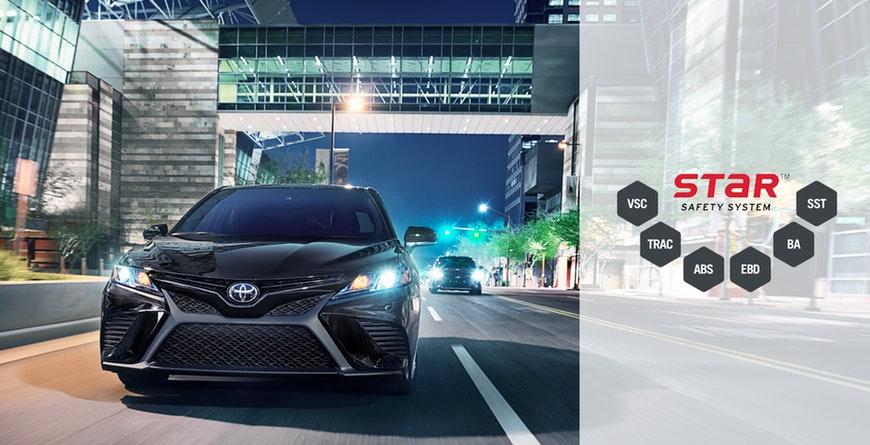 New 2019 Toyota Camry Hybrid Star Safety System™