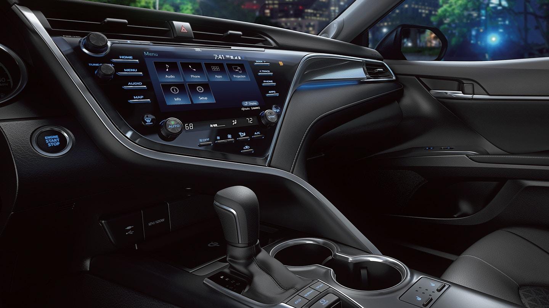 New 2019 Toyota Camry Hybrid Technology