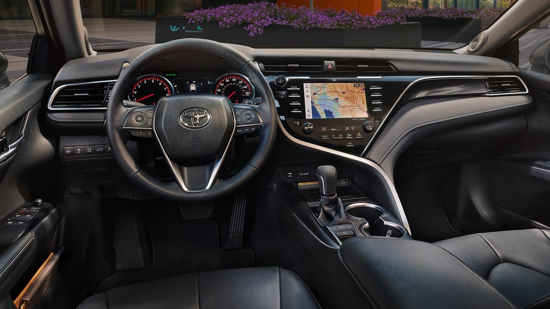 New 2019 Toyota Camry Hybrid Cockpit
