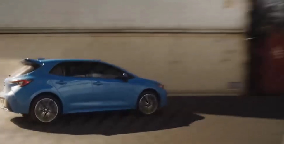 New 2019 Toyota Corolla Hatchback All-New Suspension
