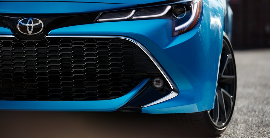 New 2019 Toyota Corolla Hatchback Chrome Grille Surround