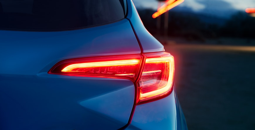 New 2019 Toyota Corolla Hatchback LED Taillights