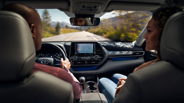 New 2020 Toyota Highlander Dashboard