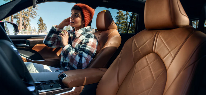 New 2020 Toyota Highlander Heated and ventilated front seats