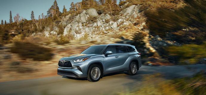 New 2020 Toyota Highlander Refined drive