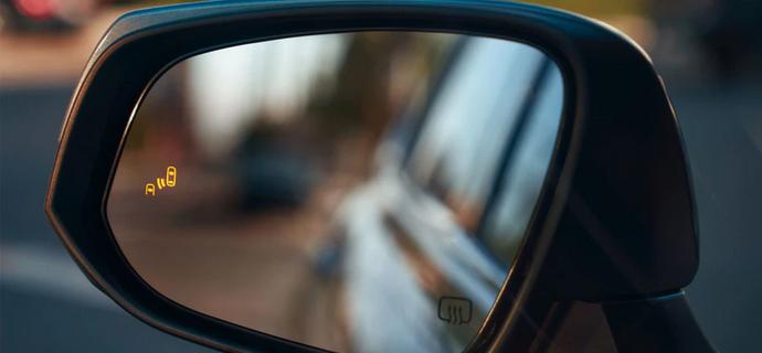 New 2020 Toyota Highlander Blind Spot Monitor with Rear Cross-Traffic Alert