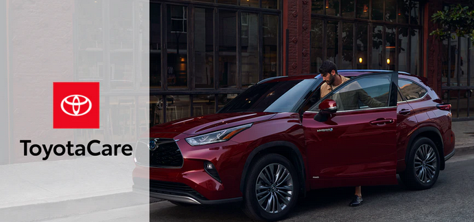 New 2020 Toyota Highlander No cost maintenance plan and Roadside Assistance