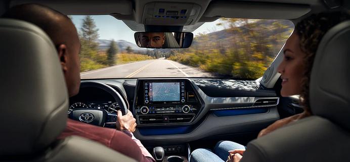 New 2020 Toyota Highlander Dynamic Navigation