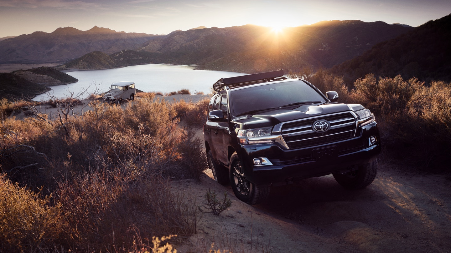 New 2020 Toyota Land Cruiser Upfront