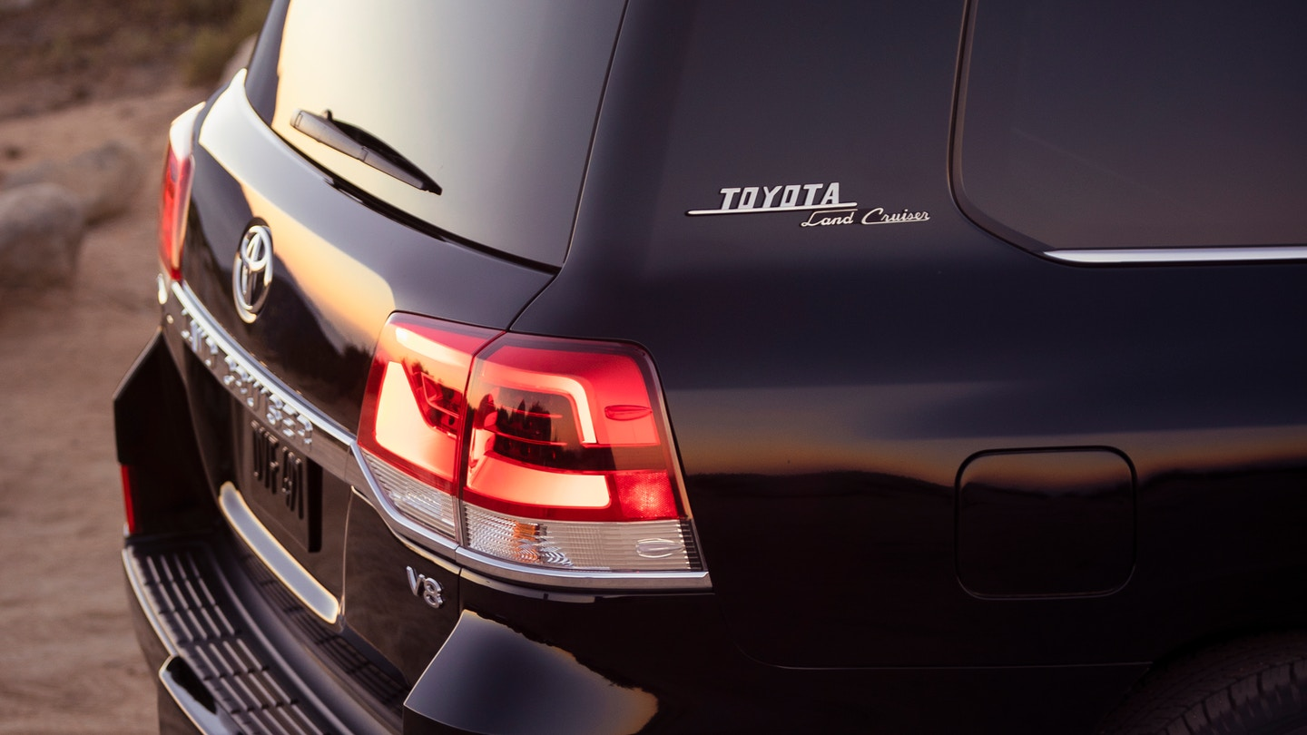 New 2020 Toyota Land Cruiser Rear