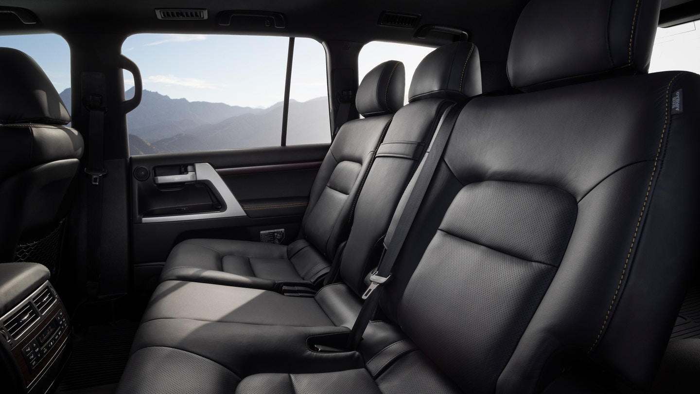 New 2020 Toyota Land Cruiser Seats