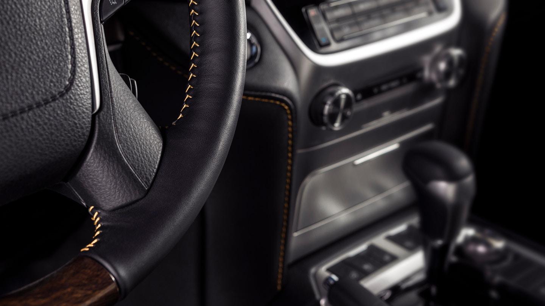 New 2020 Toyota Land Cruiser Interior