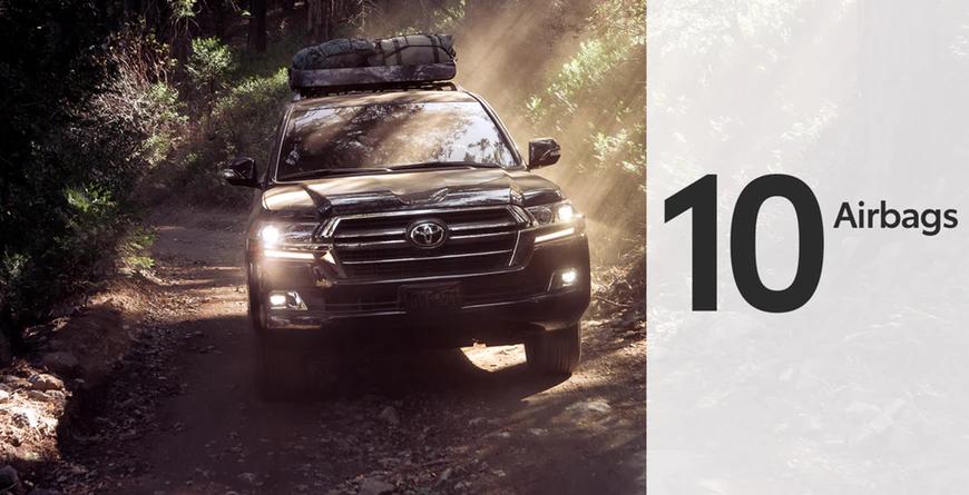 New 2020 Toyota Land Cruiser 10 airbags