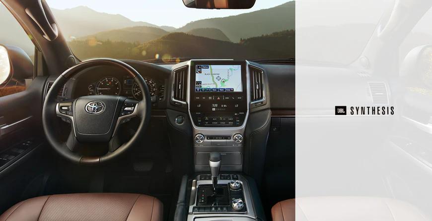 New 2020 Toyota Land Cruiser 14 JBL speakers