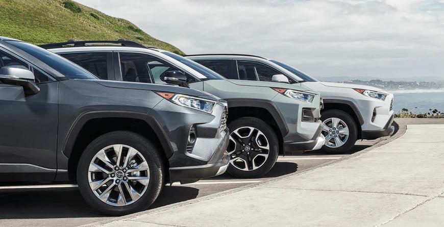 New 2020 Toyota RAV4 Wheel Designs