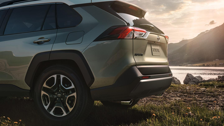 New 2020 Toyota RAV4 Rear View