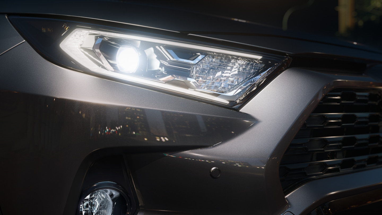 New 2020 Toyota RAV4 Headlight