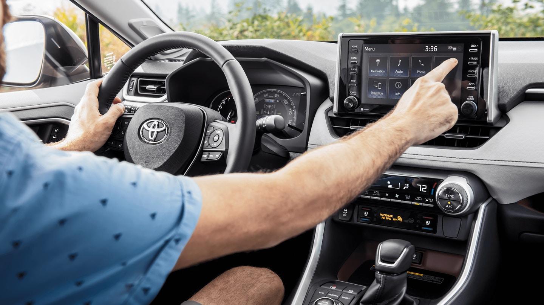 New 2020 Toyota RAV4 Technology