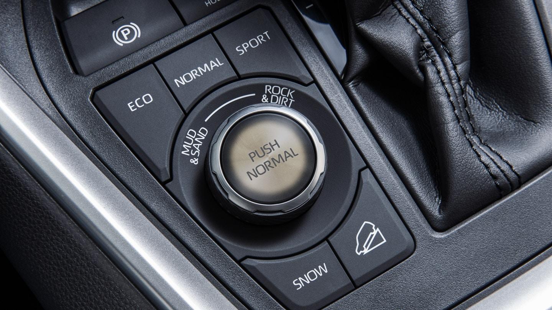 New 2020 Toyota RAV4 Button Controls