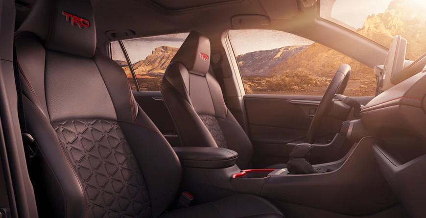 New 2020 Toyota RAV4 TRD Off-Road Interior