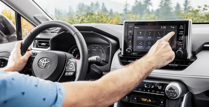 New 2020 Toyota RAV4 Audio Multimedia