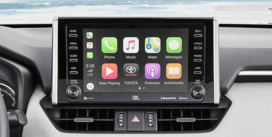 New 2020 Toyota RAV4 Apple CarPlay