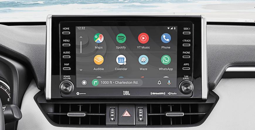 New 2020 Toyota RAV4 Android Auto