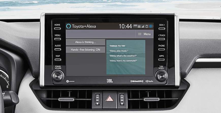New 2020 Toyota RAV4 Amazon Alexa Compatible