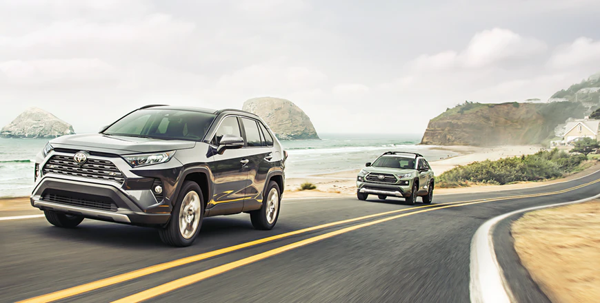 New 2020 Toyota RAV4 Direct Shift 8-speed Electronically Controlled Automatic Transmission