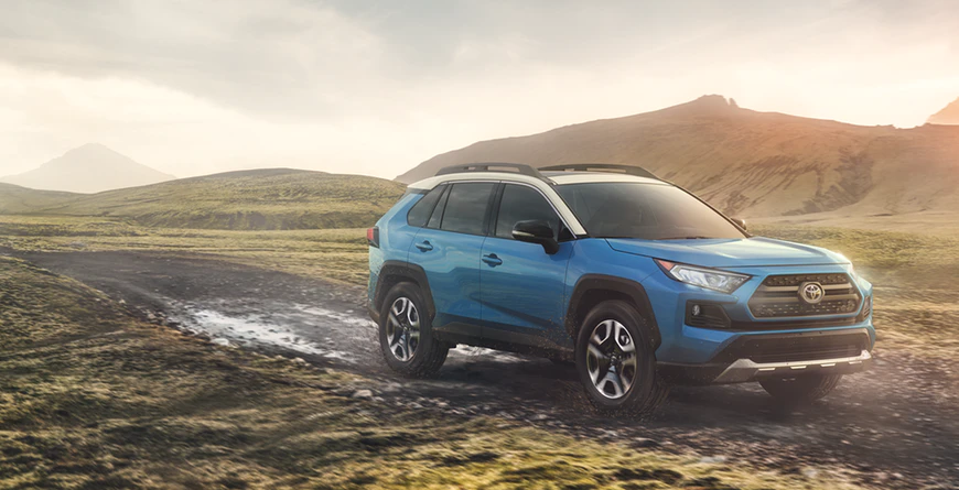 New 2020 Toyota RAV4 Exceptional Ride, Handling and Comfort