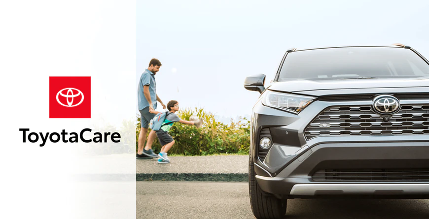 New 2020 Toyota RAV4 No Cost Maintenance Plan and Roadside Assistance