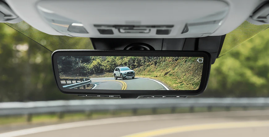 New 2020 Toyota RAV4 Digital Rearview Mirror
