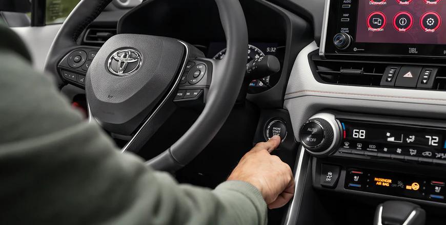 New 2020 Toyota RAV4 Smart Key System With Push Button Start