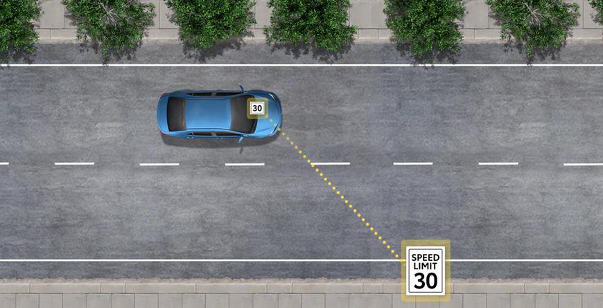 New 2020 Toyota RAV4 Road Sign Assist