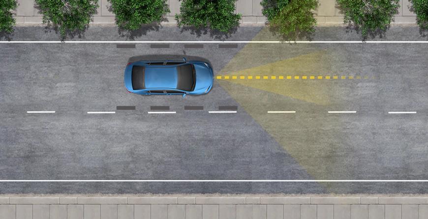 New 2020 Toyota RAV4 Lane Tracing Assist