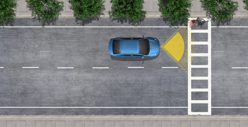 New 2020 Toyota RAV4 Pre-Collision System with Pedestrian Detection