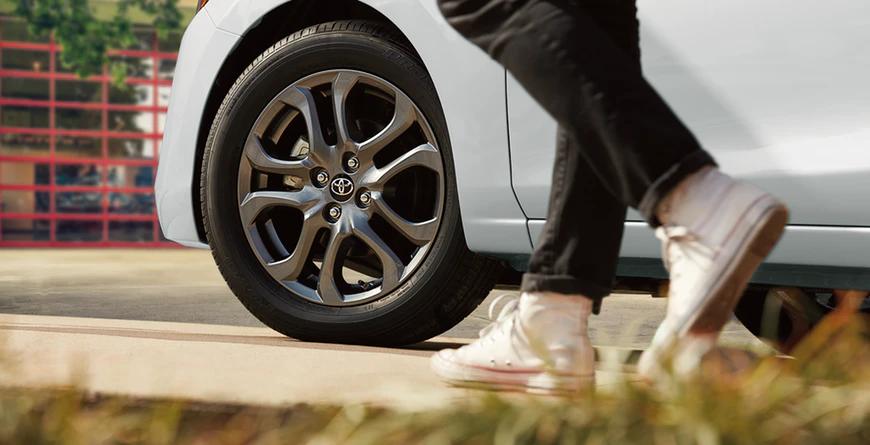 New 2020 Toyota Yaris 16-in. Split-Spoke Alloy Wheels