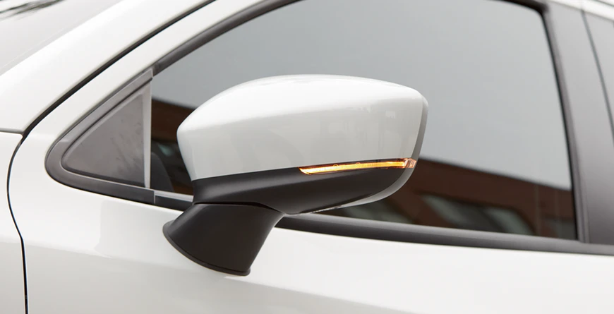 New 2020 Toyota Yaris Heated Power Side Mirrors With LED Turn Signals