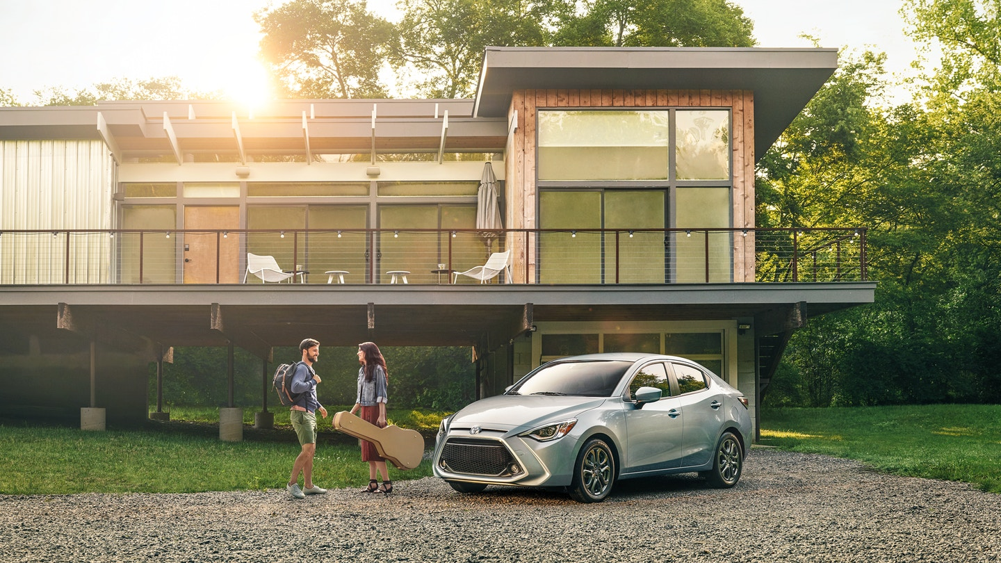New 2020 Toyota Yaris Front View