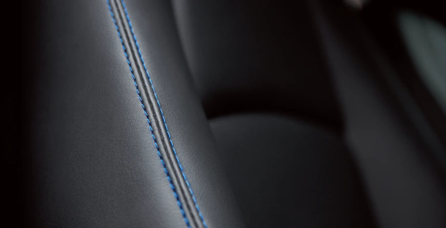 New 2020 Toyota Yaris Leatherette Seats With Contrast Stitching