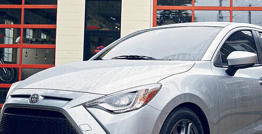 New 2020 Toyota Yaris Rain-Sensing Windshield Wipers
