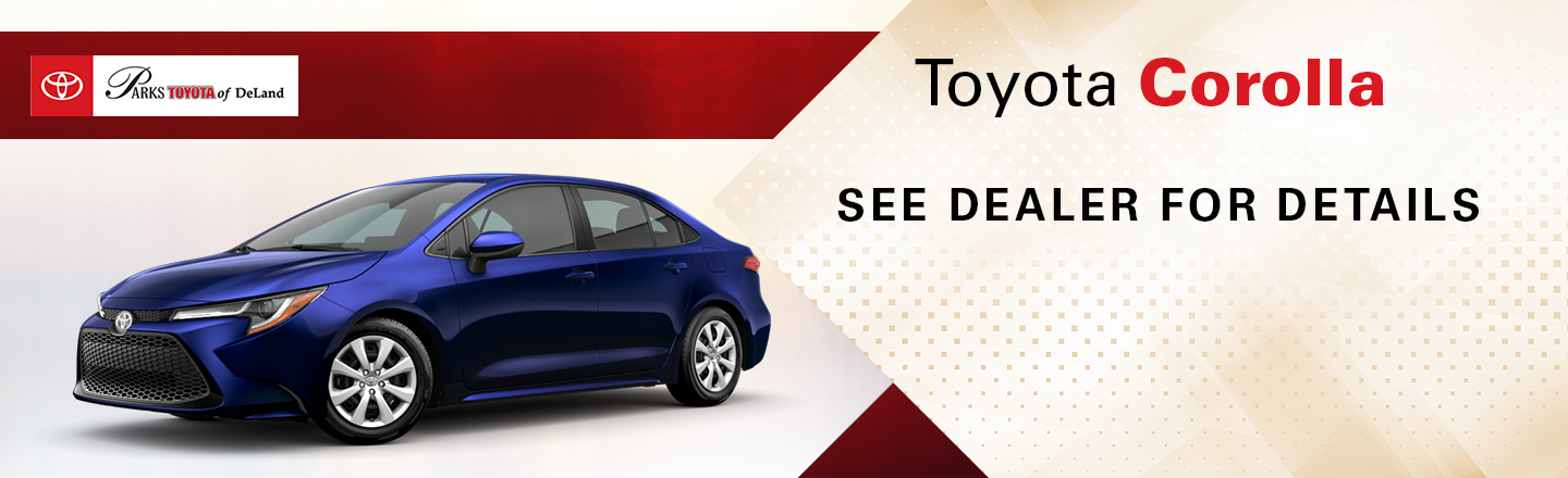Check out these new car lease specials on the all new Toyota Corolla. Contact our dealership in Pasadena for more details!