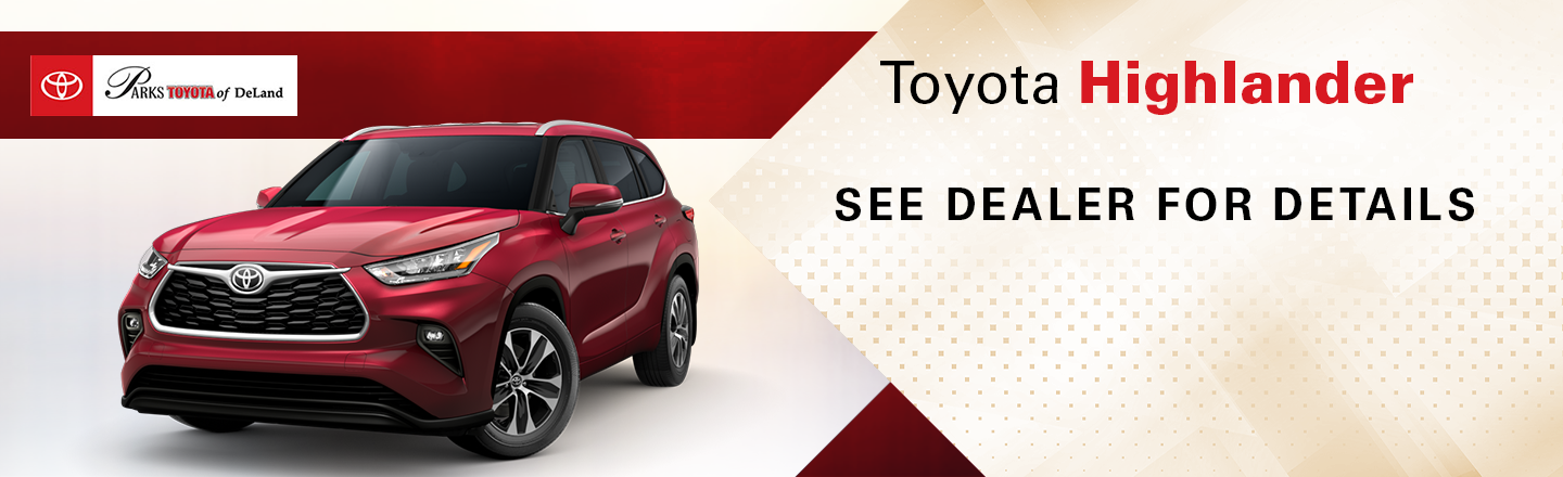 Check out these new car lease specials on the all new Toyota Highlander. Contact our dealership in Pasadena for more details!