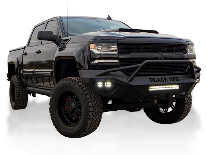 Tuscany Black Ops model - Chevrolet lifted trucks for sale near Plano